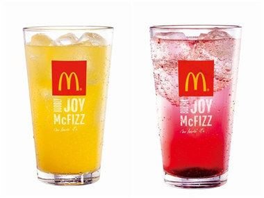 麦当劳饮料罩杯全球大对比
