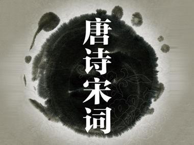 中国人民大学公开课:唐诗宋词的审美类型