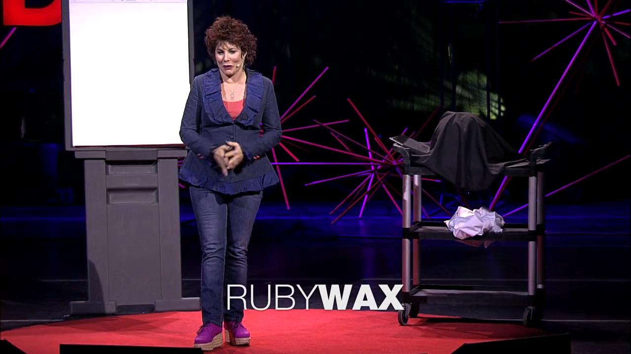 【TED】精神疾病有什么可笑的?