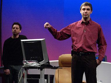Google创始人Sergey Brin和Larry Page谈Google